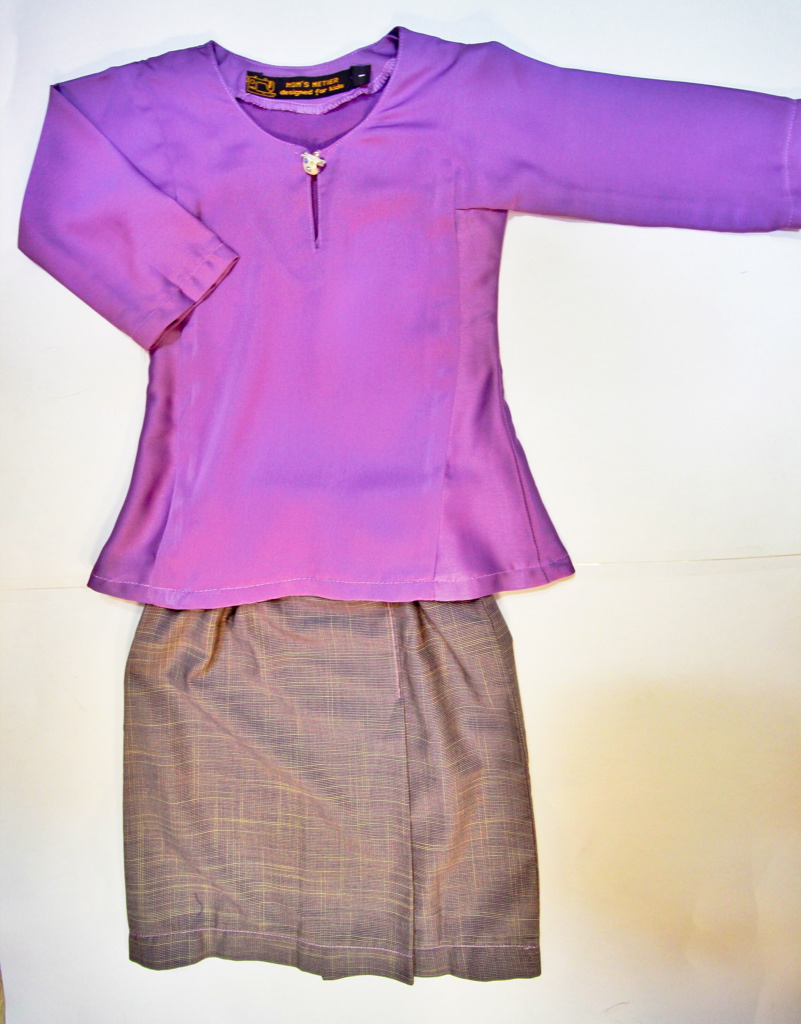 PURPLE KURUNG