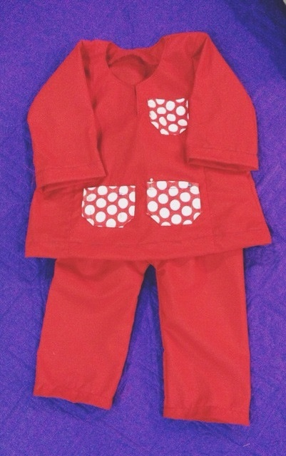 Boys Red Polka Dots